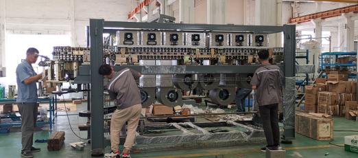 Techgen Staffs Assembling Machine